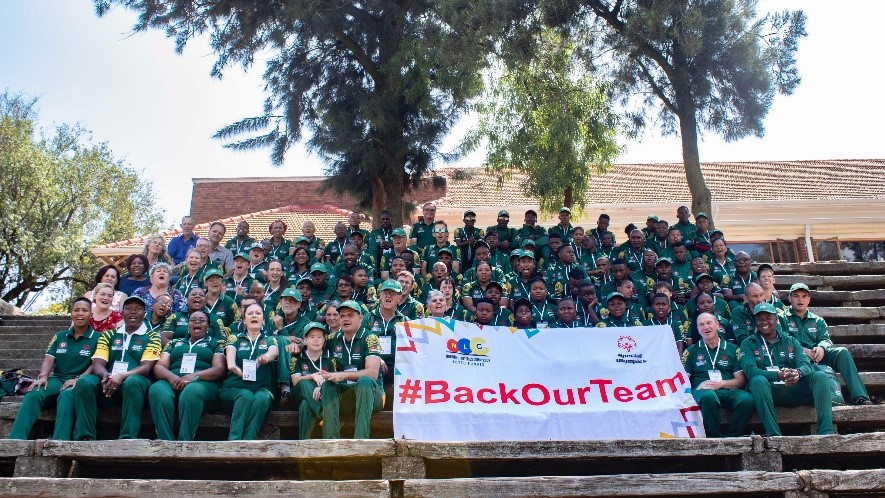 Netstar supports the South African Special Olympics Athletes