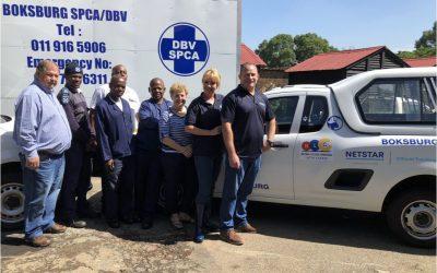 Netstar Sponsors Fleet Tracking and Recovery Services for Boksburg SPCA